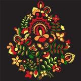 Configuration russe conception de l'orient Illustration Photo libre de droits