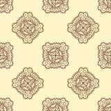Configuration sans joint Éléments décoratifs de cru Fond tiré par la main L'Islam, l'arabe, Indien, motifs de tabouret Perfection Photos stock