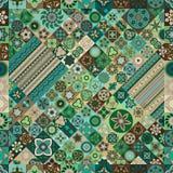 Configuration sans joint Éléments décoratifs de cru Fond tiré par la main L'Islam, l'arabe, Indien, motifs de tabouret Image stock