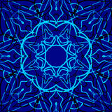 Configuration sans joint Éléments décoratifs de cru Fond tiré par la main L'Islam, l'arabe, Indien, motifs de tabouret illustration libre de droits