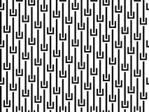 Configuration sans joint abstraite Images libres de droits