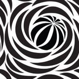 Configuration sans joint abstraite avec des cercles Ligne circulaire papier peint illustration libre de droits