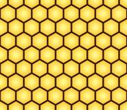 Configuration sans joint abstraite de forme de nid d'abeilles Images stock