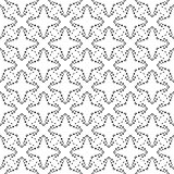 Configuration sans joint abstraite de vecteur Papier peint abstrait de fond images stock