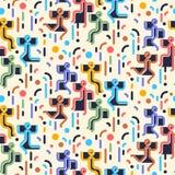 Configuration sans joint abstraite géométrique Partie de danse de personnes Photo libre de droits