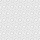 Configuration sans joint abstraite Grille hexagonale Illustration de Vecteur