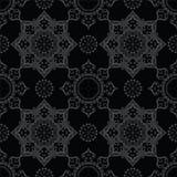 Configuration sans joint abstraite Modèle d'ornement de vintage Islamique, AR Photo stock