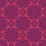 Configuration sans joint abstraite Modèle d'ornement de vintage Islamique, AR Image libre de droits