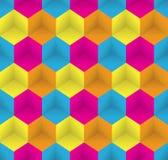 Configuration sans joint Art psychédélique abstrait Images libres de droits