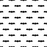 Configuration sans joint avec 'bat' Illustration de Tileable pour l'enveloppe, tissu, fond Illustration Stock