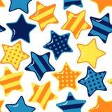 Configuration sans joint avec des étoiles Images libres de droits