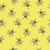 Configuration sans joint avec des abeilles Photographie stock