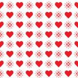Configuration sans joint avec des coeurs Valentine \ 'jour de s illustration libre de droits