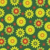 Configuration sans joint avec des fleurs Photographie stock libre de droits