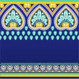 Configuration sans joint avec des motifs d'ethno Image stock