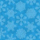 Configuration sans joint avec flocons de neige Photographie stock libre de droits