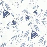 Configuration sans joint avec floral Image libre de droits
