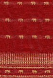 Configuration sans joint avec l'éléphant photo stock