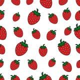 Configuration sans joint avec la fraise rouge Photographie stock libre de droits