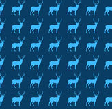 Configuration sans joint avec le renne Image stock