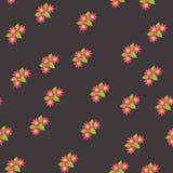 Configuration sans joint avec les fleurs colorées Vecteur illustration libre de droits