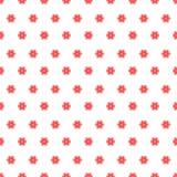 Configuration sans joint avec les fleurs roses Photo libre de droits