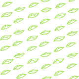 Configuration sans joint avec les lames vertes Photos stock