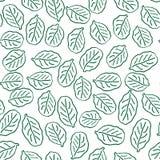 Configuration sans joint avec les lames vertes Image stock