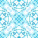 Configuration sans joint bleue Savon sensible étonnant b images stock