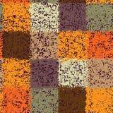 Configuration sans joint colorée d'édredon souillée par grunge Images libres de droits