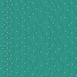 Configuration sans joint décorative Illustration de vecteur avec des vagues ou des dunes de résumé Ornement géométrique Photo stock