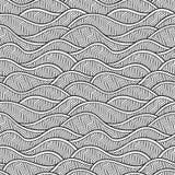 Configuration sans joint décorative Illustration de vecteur avec des vagues ou des dunes de résumé illustration de vecteur