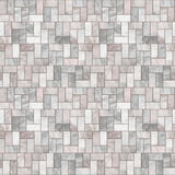 Configuration sans joint d'étage en pierre gris Image stock
