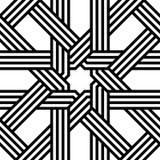 Configuration sans joint d'arabesque de vecteur illustration libre de droits
