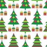 Configuration sans joint d'arbre de Noël Photos stock