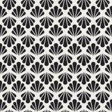 Configuration sans joint d'art déco Texture décorative florale géométrique Le vecteur laisse le fond élégant Illustration abstrai Photographie stock