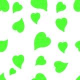 Configuration sans joint d'automne avec des lames Carte postale avec des copies de feuilles Lames des arbres illustration libre de droits