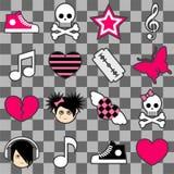 Configuration sans joint d'emo Images libres de droits