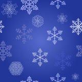 Configuration sans joint d'an neuf de Noël de l'hiver Photos libres de droits