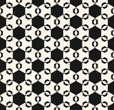 Configuration sans joint d'ornement de vecteur Texture hexagonale élégante Photographie stock libre de droits