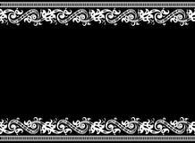 Configuration sans joint de cadre Images stock
