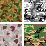 Configuration sans joint de camouflage Image stock