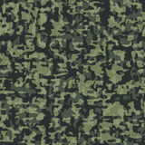 Configuration sans joint de camouflage Photo stock