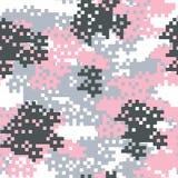 Configuration sans joint de camouflage Images stock