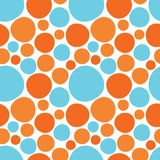 Configuration sans joint de cercles colorés illustration libre de droits