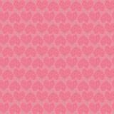 Configuration sans joint de coeur rose illustration stock
