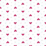 Configuration sans joint de coeurs Coeurs roses colorés Amour ` S de Valentine Photo stock