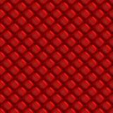 Configuration sans joint de coussin rouge de vinyle Photo stock