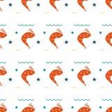 Configuration sans joint de créatures de mer Photos libres de droits