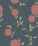 Configuration sans joint de cru floral Photographie stock